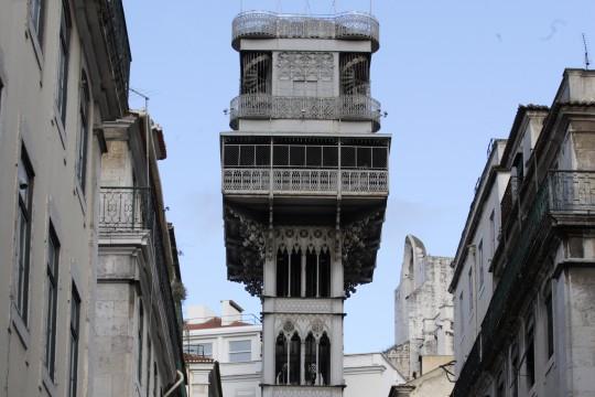 Lissabon: Elevador do Carmo/de Santa Justa