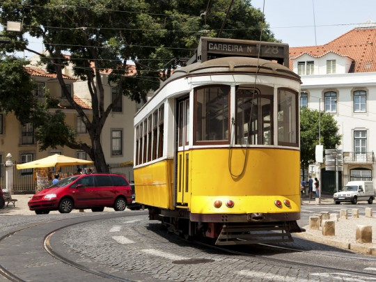 Lissabon: Eléctrico 28