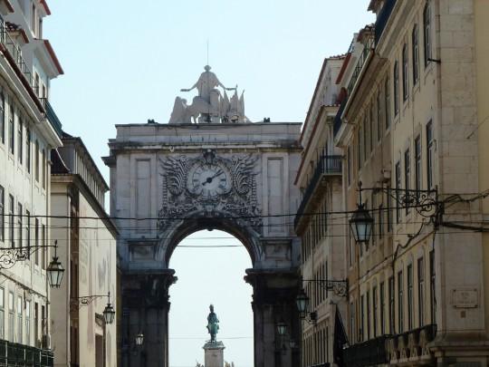 Lissabon: Praça do Comércio