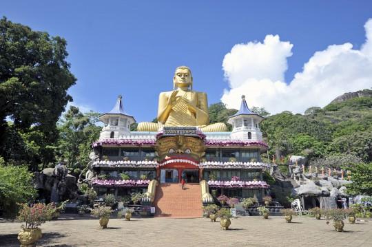Sri Lanka: Dambulla Buddhist Tempel
