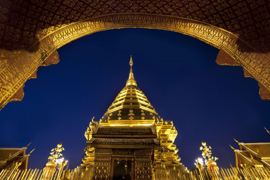 Nordthailand: Wat Phra That Doi Suthep