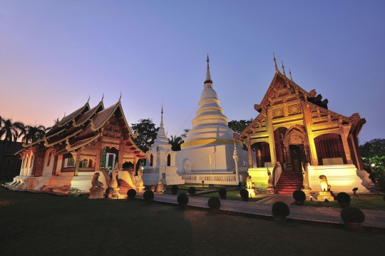 Nordthailand: Wat Phra Singh