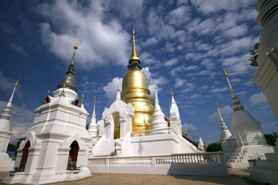 Nordthailand: Wat Suan Dok