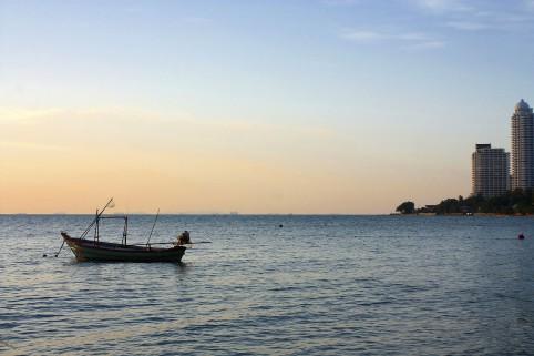 Südthailand: Fischerboot