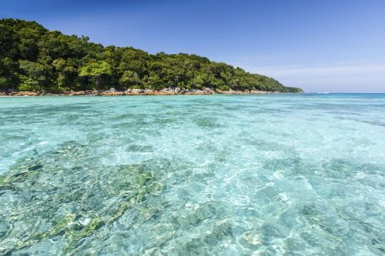 Südthailand: Meer