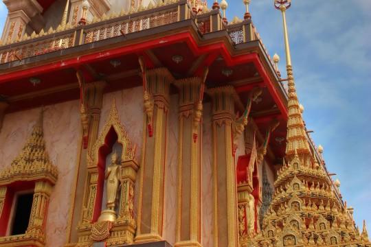 Südthailand: Chalong Tempel