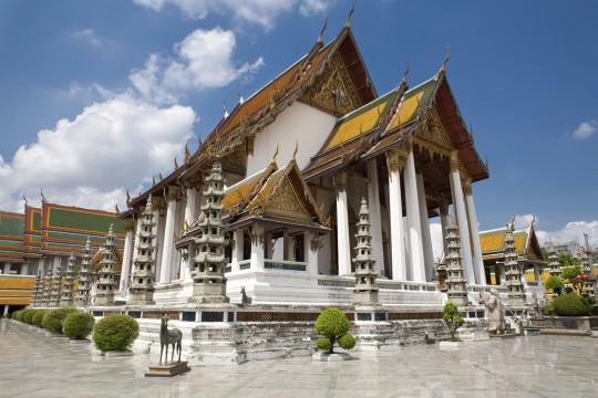Bangkok: Tempel Sutat
