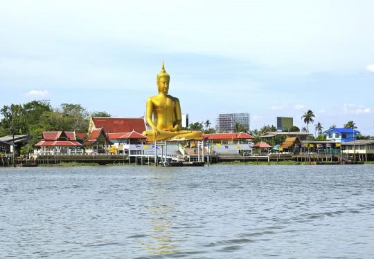 Bangkok: Chao Phraya Fluss & Big Buddha