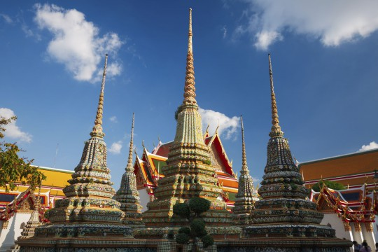 Bangkok: Wat Pho (Tempel des ruhenden Buddha)