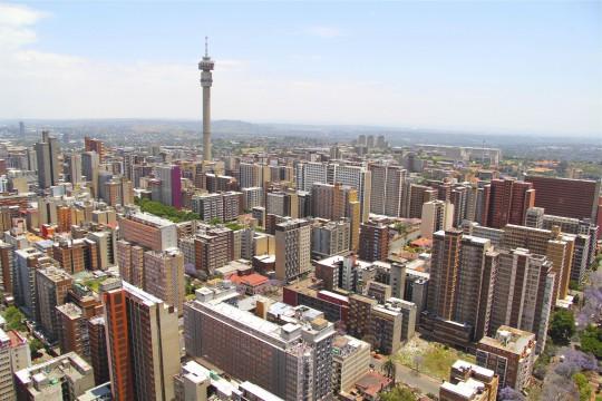 Südafrika: Johannesburg Skyline