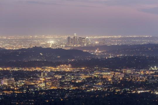 Los Angeles: in Abenddämmerung