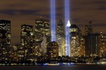 New York: Ground Zero Lights