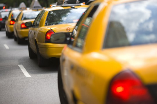New York: Gelbe Taxis
