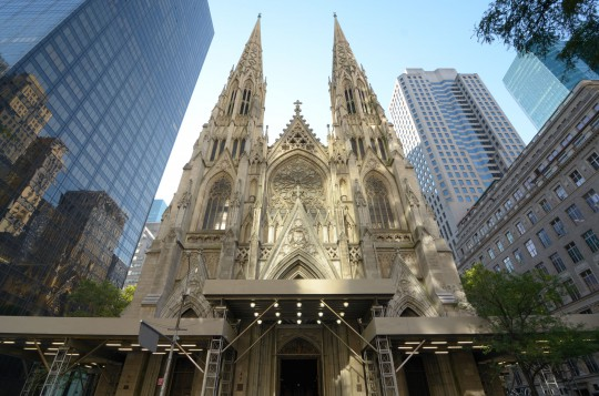 New York: St. Patrick`s Cathedral