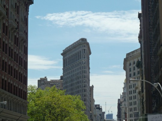 New York: Flat Iron Building