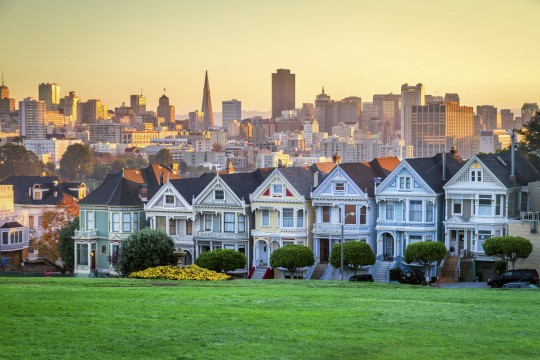 San Francisco: The painted Ladies