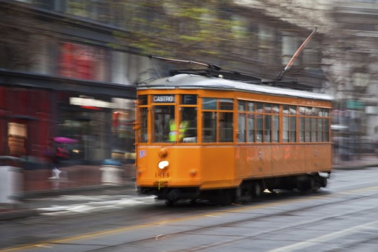 San Francisco: Vintage Straßenbahn