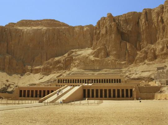 Luxor: Hatschepsut Tempel