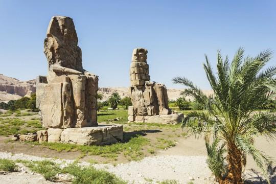 Luxor: Memnon Kolosse