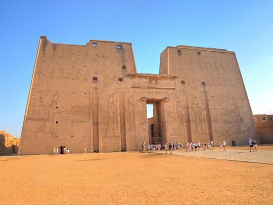 Luxor: Horus-Tempel Edfu