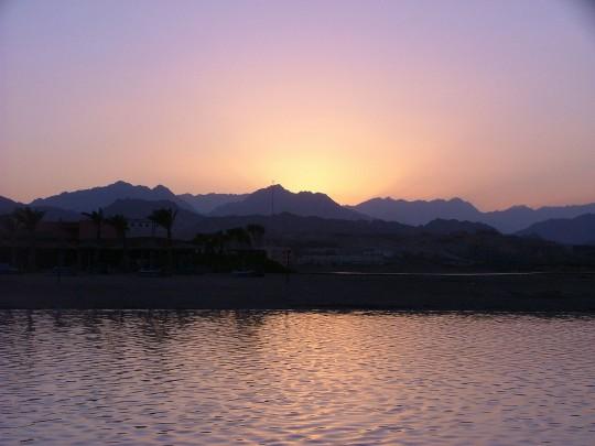 Luxor: Sonnenuntergang in Sharm el Sheik