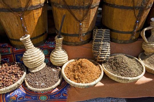 Sharm El Sheikh: Spices on market