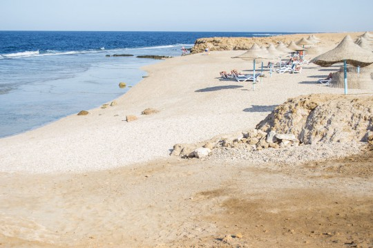 Hurghada: Sand beach