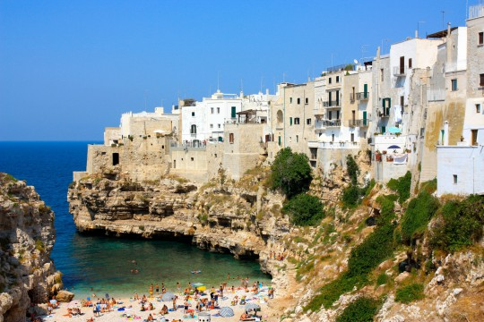 Apulien: Polignano a mare