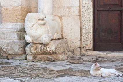 Apulien: Kirche San Giovanni al Sepolcro