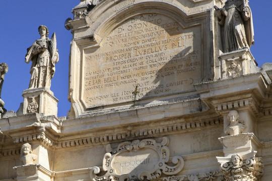 Apulien: Porta Rudiae