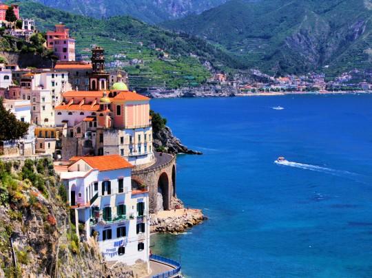 Kampanien & Amalfi-Küste: Küste