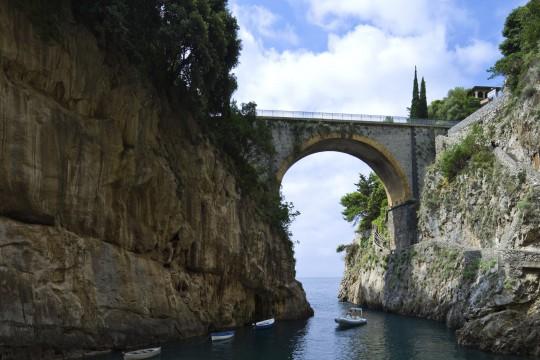 Kampanien & Amalfi-Küste: Fjord von Furore