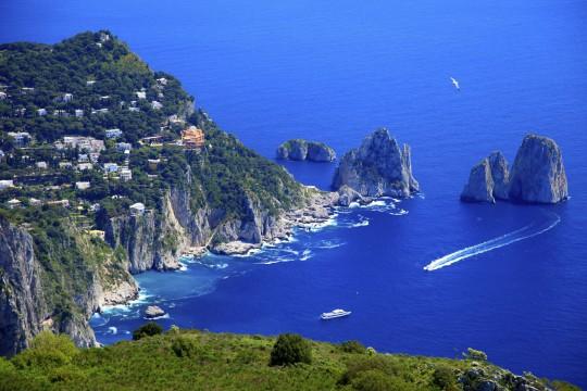 Kampanien & Amalfi-Küste: Capri