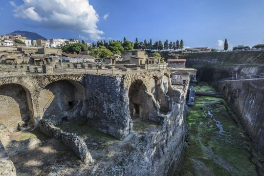 Kampanien & Amalfi-Küste: Herculaneum