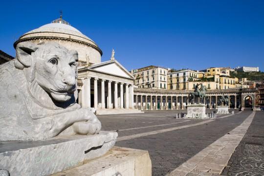 Kampanien & Amalfi-Küste: Piazza del Plebiscito