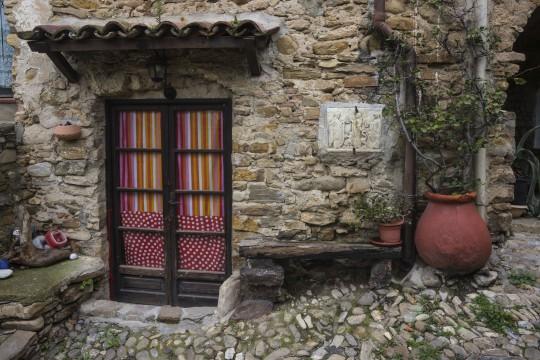 Ligurien: Bussana Vecchia