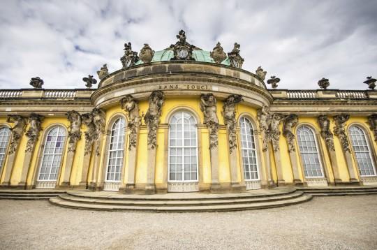 Brandenburg: Schloss Sanssouci