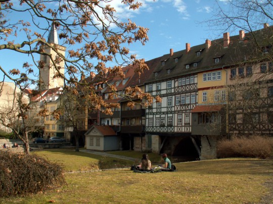 Thüringen: Krämerbrücke