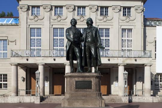 Thüringen: Goethe Schiller Denkmal