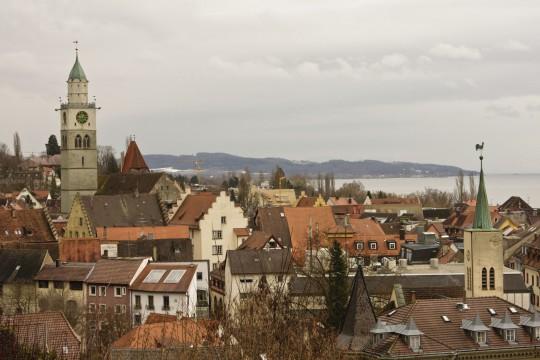 Bodensee: Stadt Überlingen