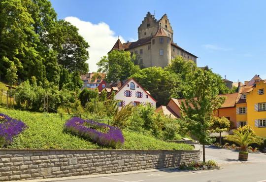 Bodensee: Burg Meersburg