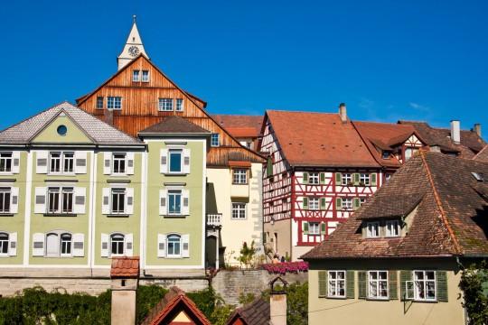 Bodensee: Stadt Meersburg