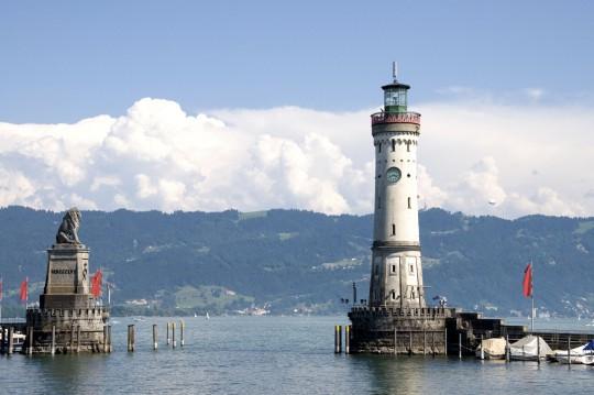 Bodensee: Stadt Lindau