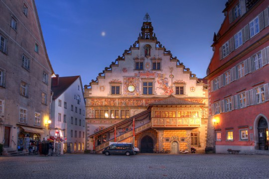 Bodensee: Altes Rathaus Lindau
