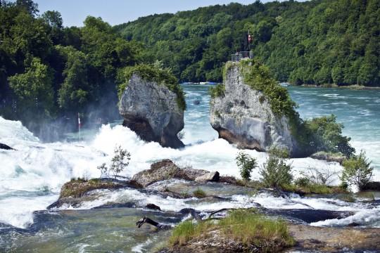 Bodensee: Rheinfall bei Schaffhausen