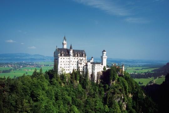 Allgäu: Schloss Neuschwanstein