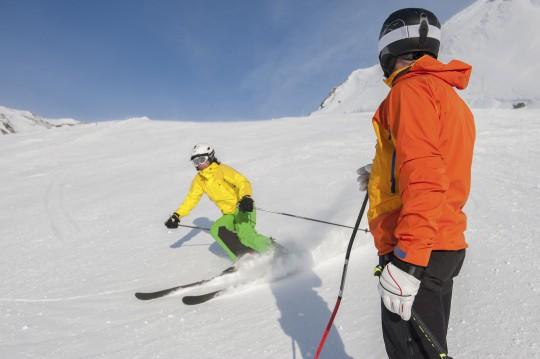 Wintersport bei Oberstdorf (Symbolbild)