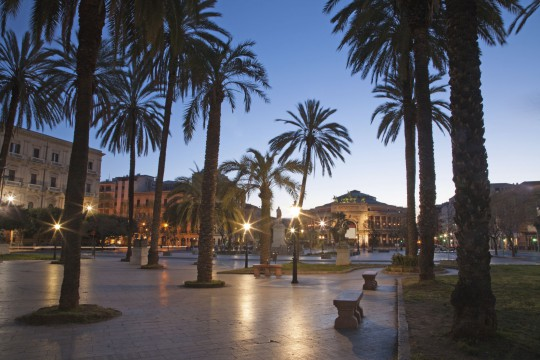 Sizilien: Palermo Piazza