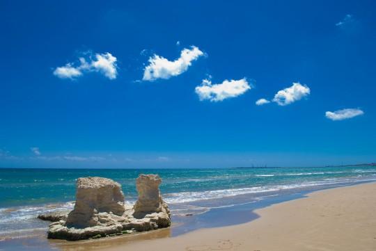 Sizilien: Strand Pozzallo