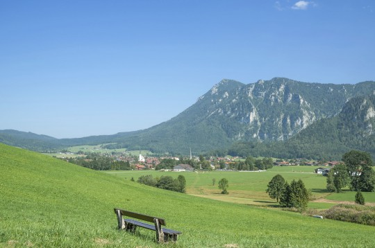 Chiemgau und Chiemsee: Blick auf Inzell